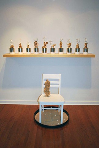 installation view of Debutaunts