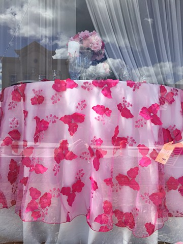 Pink Window Display
