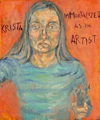 Krista, Immortalized As The Artist