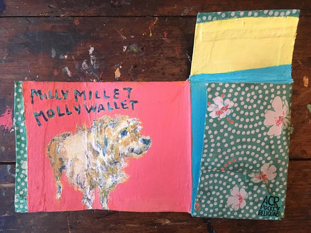 MILLY MILLET MOLLY WALLET, Custom Order *SOLD*