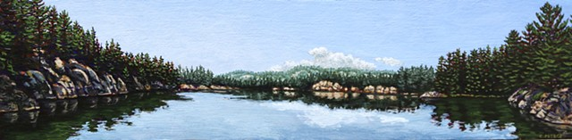 Christina Preece canadian landscape artist art painting