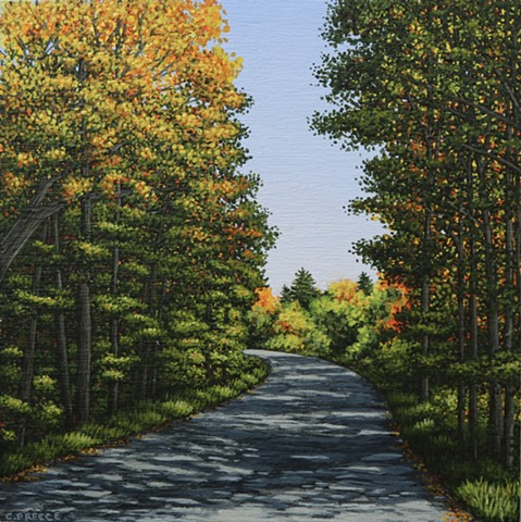 Christina Preece Canadian landscape artist art painter painting
