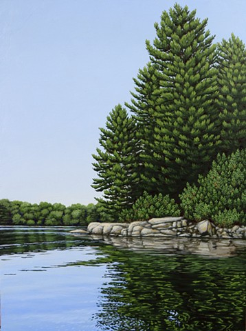 Christina Preece canadian landscape artist art muskoka waterscape