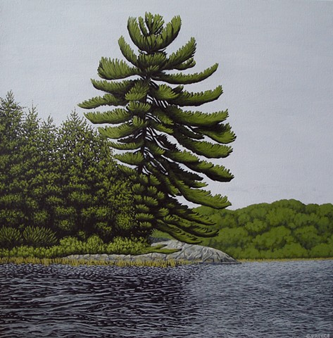 Christina Preece canadian landscape artist art painting waterscape