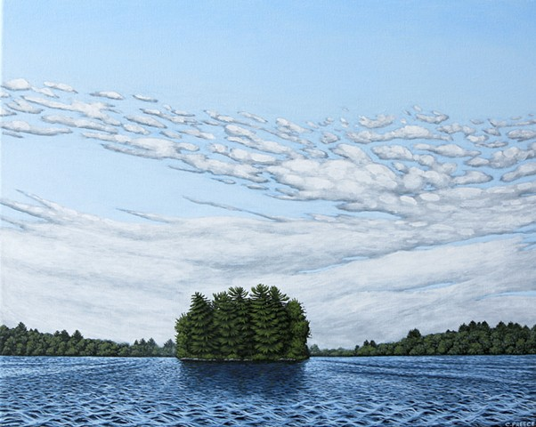 Christina preece Canadian landscape art painting muskoka
