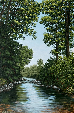 Christina Preece Canadian artist art painting landscape Kitchener