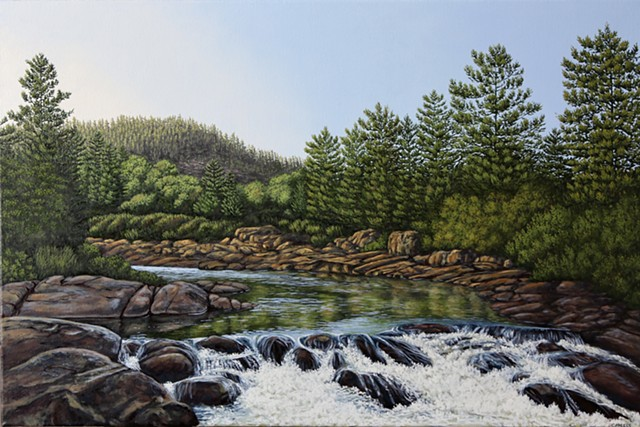 Christina Preece Canadian Landscape art painting
