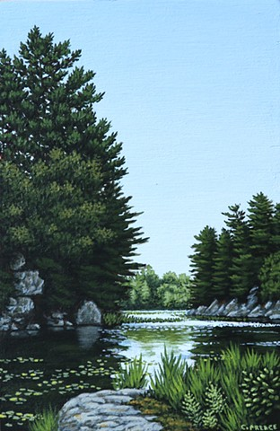 Christina Preece Canadian landscape painter painting art artist muskoka