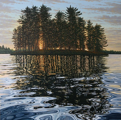Christina Preece Canadian landscape art artist muskoka waterscape