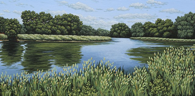 Christina Preece Canadian artist landscape waterscape