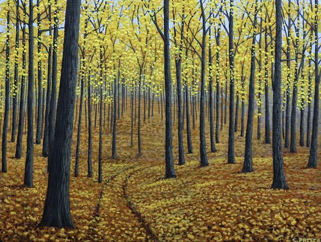 Christina Preece canadian landscape artist art painting painter