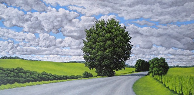 Christina Preece canadian landscape painting