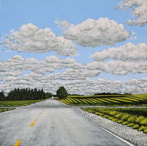 Christina Preece Canadian art artist landscape