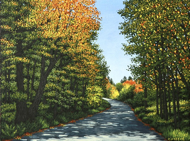 Christina Preece Canadian landscape artist art painting artwork