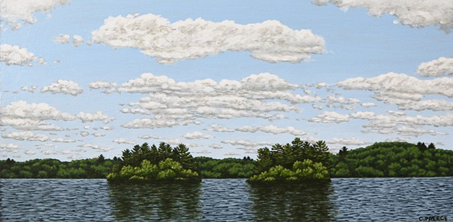 Christina Preece Canadian Landscape painting art muskoka