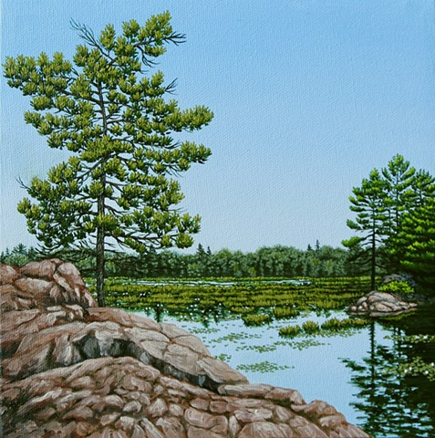 Christina Preece Canadian Landscape artist Painting Art