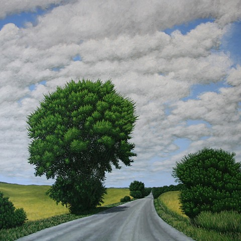 Christina Preece Canadian Landscape painting art