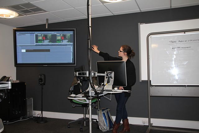 Helena Astbury, teaching FCP workshop at Unversity of Oxford