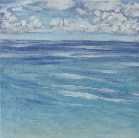Tropical sea painting