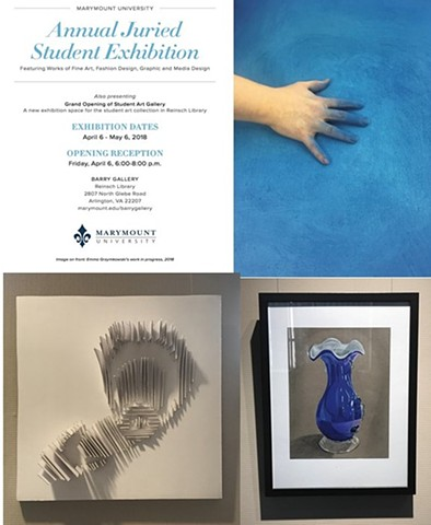 2018 Annual Juried Student Exhibition