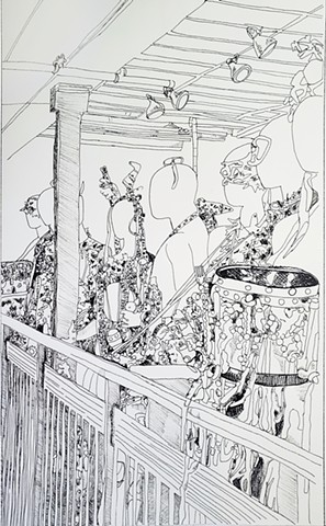 Instruments Performing Line Drawing
