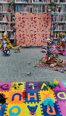 Princess Penelope Library Performance  (Set up at the Manoogian Visual Resource Center Library)