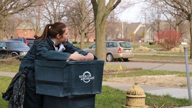 """If I Were a Trash Bin"" Video Still"