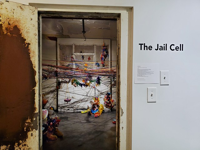 If You Throw A Toy In Jail Installation Close Up