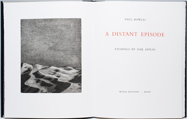 A Distant Episode, title page