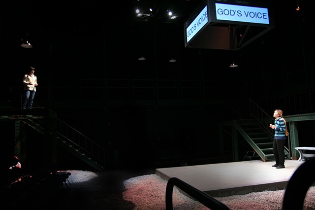 Love and Information - Grinnell College - scene design