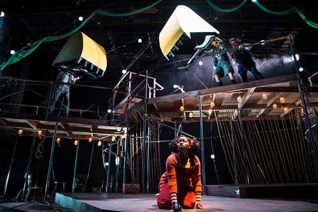 Fantastic Mr. Fox - Emerald City Theater - scene design