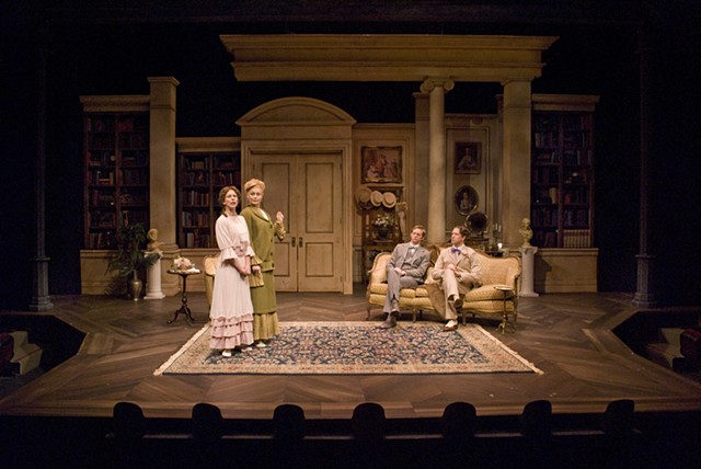 Cygnet Theatre, The Importance of Being Earnest, Directed by Sean Murray, Set Design by Sean Fanning