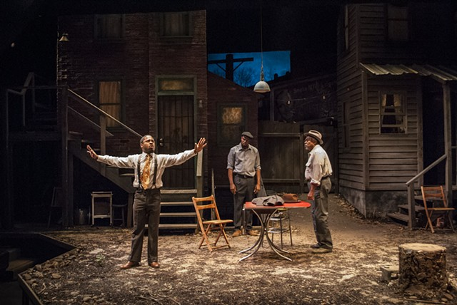 Seven Guitars by August Wilson, directed by Jennifer L. Nelson, scenic design by Sean Fanning, Cygnet Theatre Company.