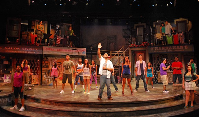 "Sean Fanning Scenic Design, San Diego Repertory ""In the Heights"" directed by Sam Woodhouse, set design by Sean Fanning"