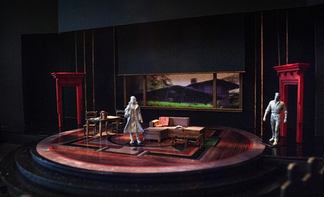 San Diego Repertory production of Sarah Ruhl's The Oldest Boy directed by Sam Woodhouse Scenic Design by Sean Fanning
