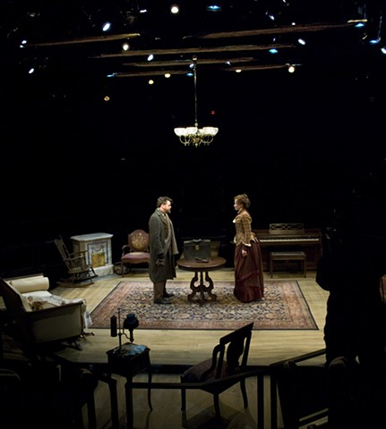 Sean Fanning Scenic Design, The Old Globe, A Doll's House, Directed by Kirsten Brandt, Set Design by Sean Fanning