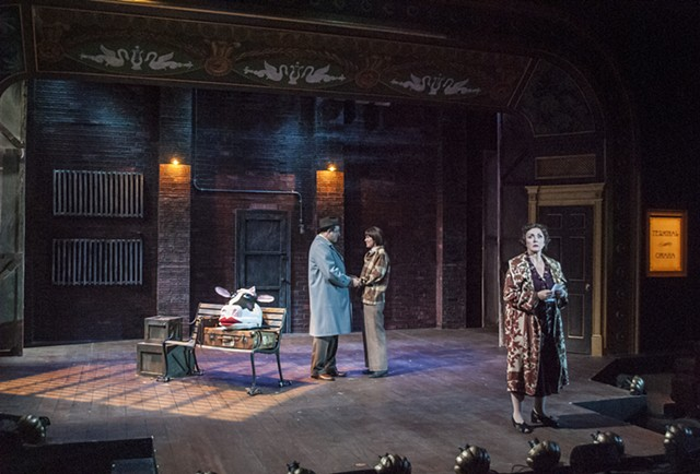 Gypsy at Cygnet Theatre, Directed by Sean Murray, Scenic Design by Sean Fanning