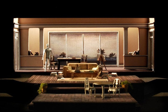 Set Design model by Sean Fanning for Tragedy of the Commons, Cygnet Theatre.