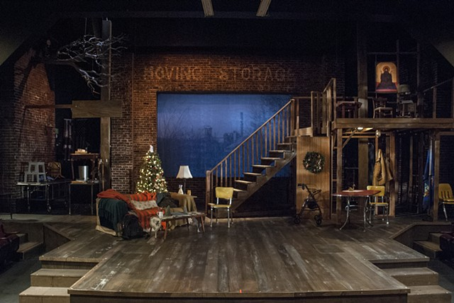 Sean Fanning Scenic Design, Sons of the Prophet by Stephen Karam, directed by Rob Lutfy, Cygnet Theatre, set design