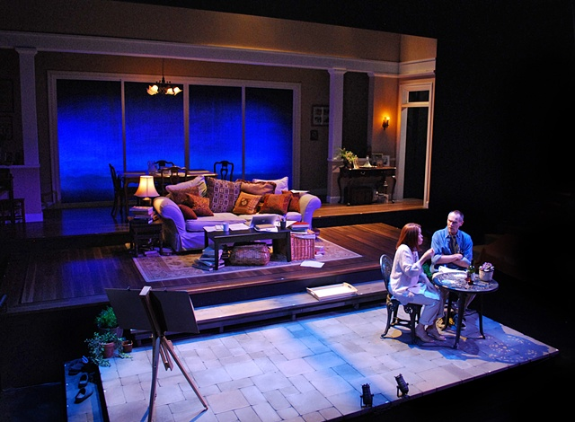 Tragedy of the Commons Cygnet Theatre Stephen Metcalfe Sean Murray Sean Fanning set design