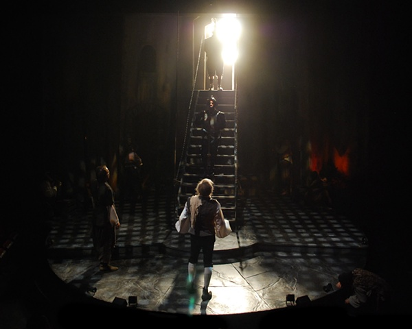Cygnet Theatre's production of Man of La Mancha, directed by Sean Murray, set design by Sean Fanning, Sean Fanning scenic design