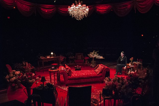 Full Gallop at the Old Globe starring Mercedes Ruehl, Directed by Andrew Russell, Scenic Design by Sean Fanning