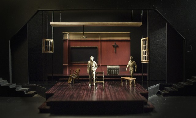 Sean Fanning Scenic Design, Cygnet Theatre's production of Shakespeare's R&J by Joe Calarco, Directed by George Ye, Set Design by Sean Fanning