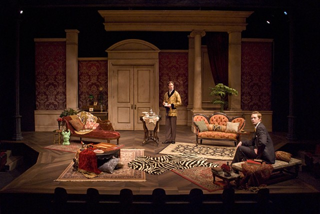 Sean Fanning Scenic Design, Cygnet Theatre, The Importance of Being Earnest, Directed by Sean Murray, Set Design by Sean Fanning