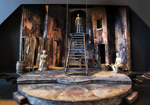 Sean Fanning Set Design for Man of La Mancha Scenic Design