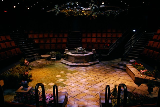 Sean Fanning Scenic Design, The Old Globe, Much Ado About Nothing, Directed by James Newcomb