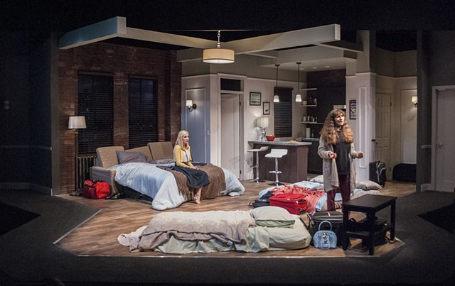 Cygnet Theatre Bad Jews, Directed by Rob Lutfy, Scenic Design by Sean Fanning