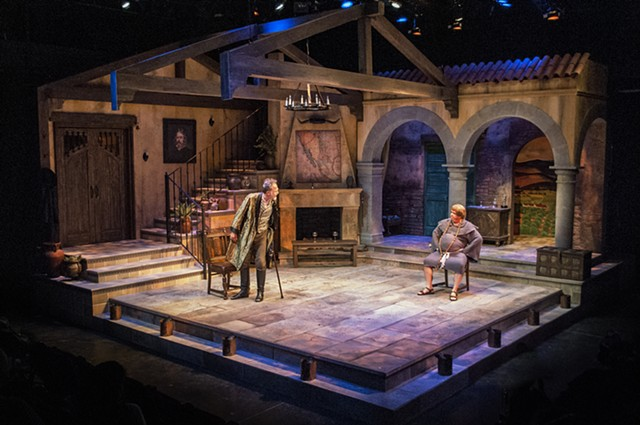 Manifest Destinitis by Herbert Siguenza, directed by Sam Woodhouse, scenic design by Sean Fanning. San Diego Repertory Theatre.