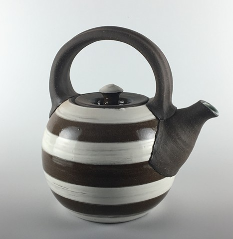 Striped Teapot
