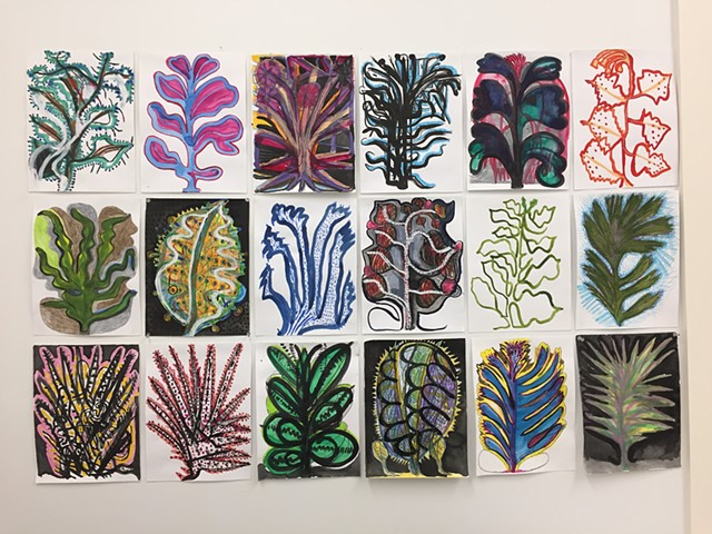 Small Plants Group Vermont Studio Center June 2018